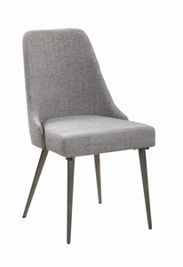 Levitt Modern Dining Chair Gray (Set Of 2)