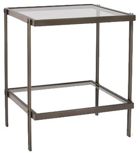 Fulton Side Table Antique Bronze