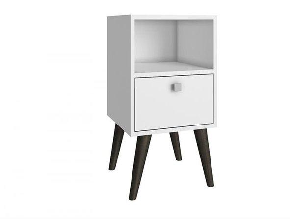 Abisko Side Table White