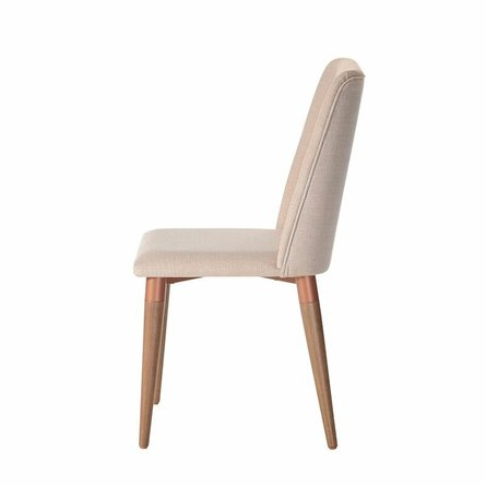 Tampa Dining Chair Dark Beige ( Set Of 2)