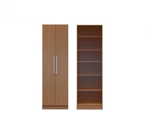 Chelsea 2.0 6 Shelf Closet With 2 Doors Maple Cream