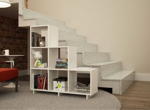 Cascavel Stair Cubbies Off White
