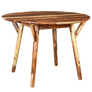 Mira Round Dining Table Sheesham