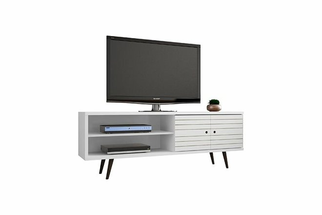 "Liberty 62.99"" TV Stand White"