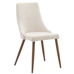 Cora Side Chair Beige (Set of 2)