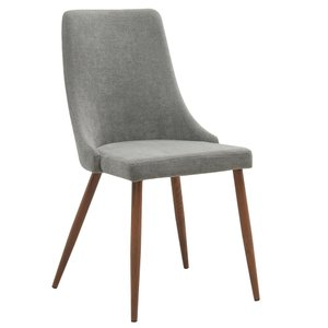 Cora Side Chair Grey (Set of 2)