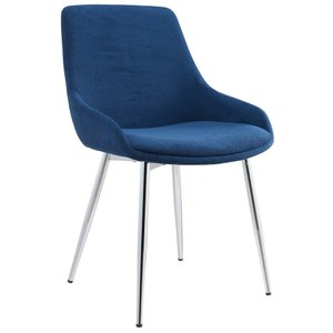 Cassidy Side Chair Blue (Set of 2)