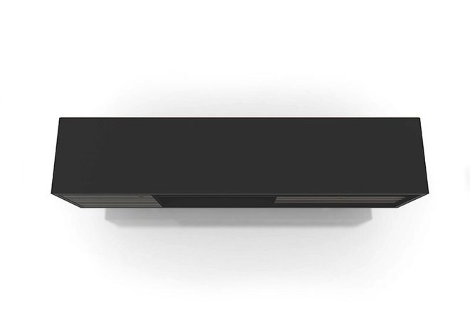 """Liberty 70.86"""" Mid Century Modern TV Stand 4 Shelves Stand Black"""
