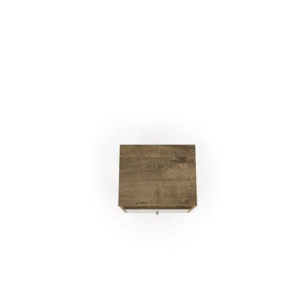 Liberty Mid Century Modern Nightstand 1.0 Brown/White