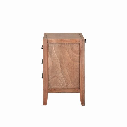 Auburn Nightstand White-Washed Natural