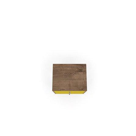 Liberty Mid Century Modern Nightstand 2.0 Brown/Yellow