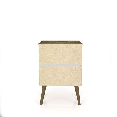 Liberty Mid Century Modern Nightstand 2.0 Brown/3D Brown Prints