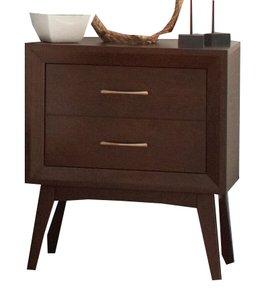 Carrington 2 Drawer Nightstand Coffee