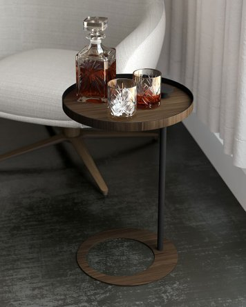 Horatio Side Table Walnut