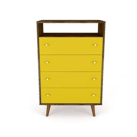 Liberty Dresser Brown/Yellow