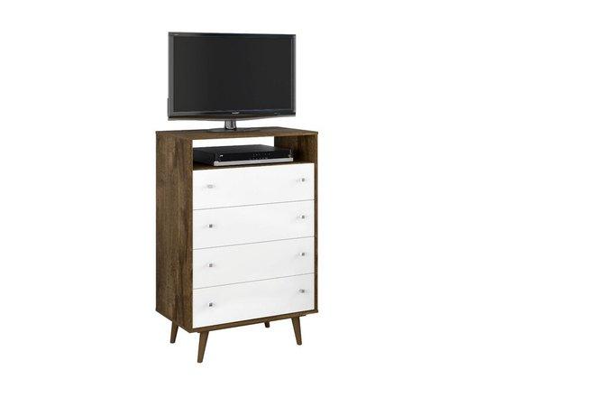 Liberty Dresser Brown/White