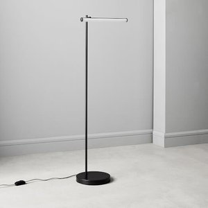 West Elm Light Rods Led Reader Floor Lamp Dark Bronze