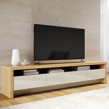 SylvanTV Stand Nature Wood/Off White