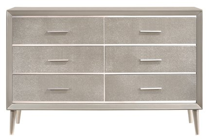 Ramon Dresser Metallic Sterling