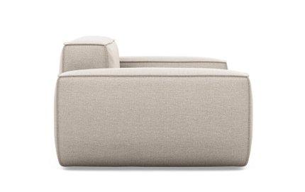 Gray Accent Chair Linen