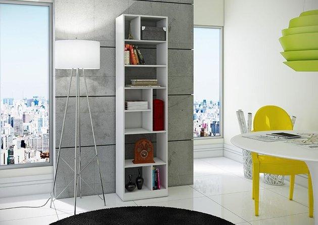 Valenca 4.0 Bookcase White