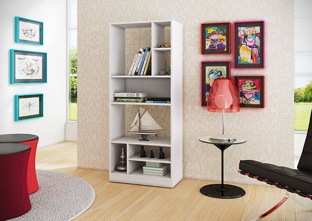 Valenca 3.0 Bookcase White