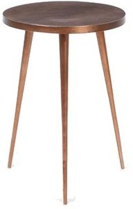 West Elm Tripod Side Table Copper