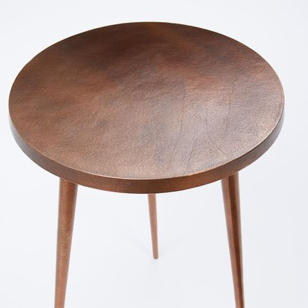 Tripod Side Table Copper