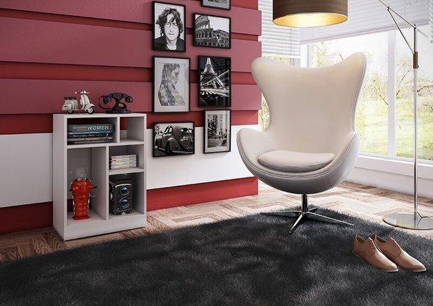 Valenca 1.0 Bookcase White