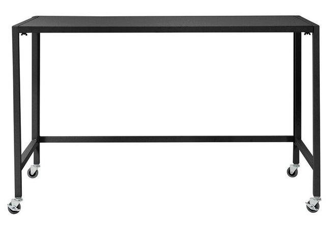 "Christel 48"" Folding Desk Black"