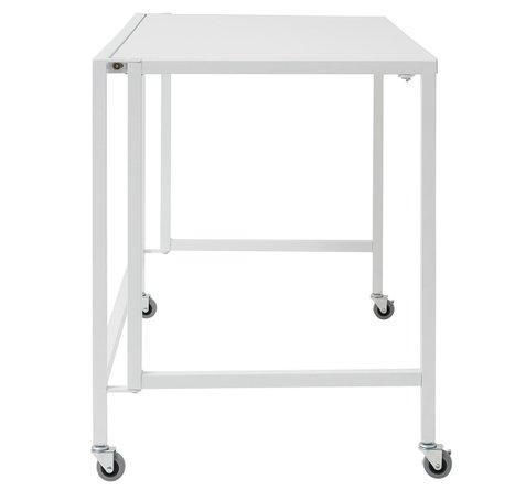 """Christel 47.5"""" Folding Desk White"""