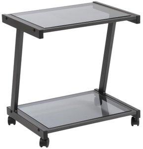 L-Series Printer Cart Graphite Black