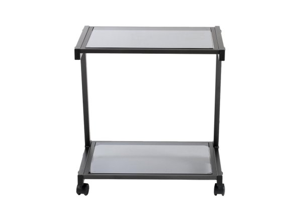 L-Series Printer Cart Graphite Black