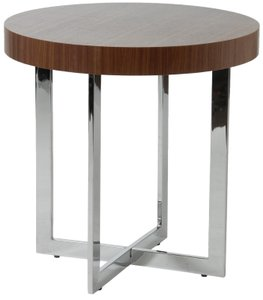 "Oliver 22"" Side Table Walnut"