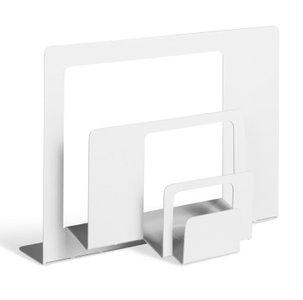 2D:3D Letter Holder White