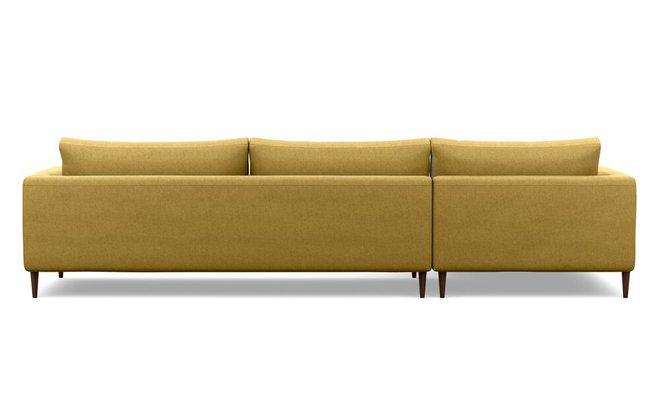 Interior Define Asher Left Extended Sectional Sofa Ochre