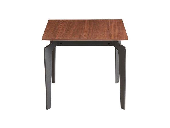 "Brighton 20"" Nesting Table Walnut & Black (Set of 2)"