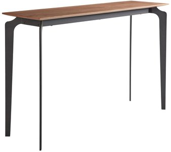 "Brighton 48"" Console Table Walnut & Black"