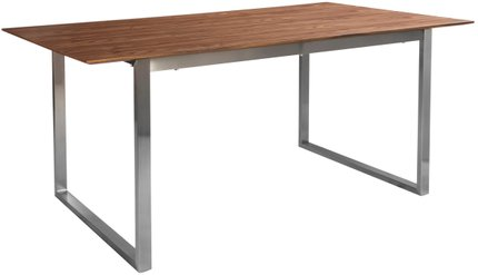 "Alvarado 84"" Rectangular Dining Table Walnut"