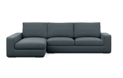 Ainsley Left Extended Sectional Sofa Rain