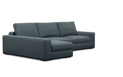 Ainsley Left Extended Sectional Sofa Rain