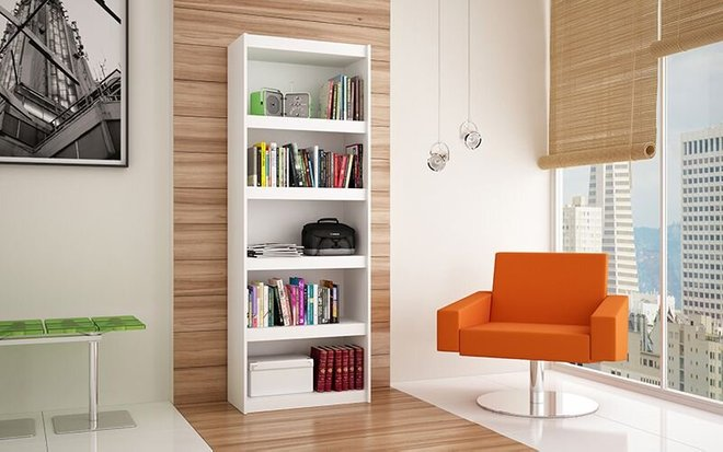 Parana 3.0 Bookcase White