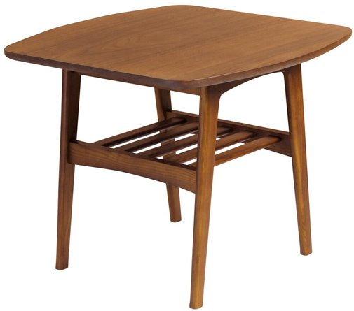 Carmela Square Side Table Walnut