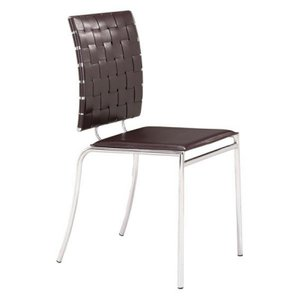 Criss Cross Dining Chair Espresso