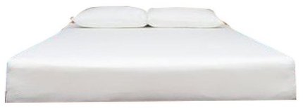 "Eight Queen Mattress 10"" White"