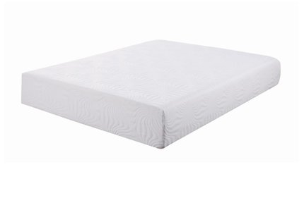 "Key Memory Foam Full Mattress 10"" White"