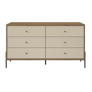 Joy Wide Double Dresser Off White