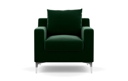 Interior Define Sloan Petite Chair Emerald
