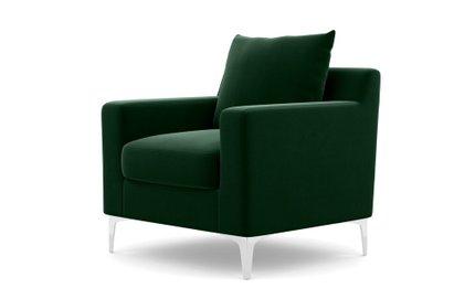 Sloan Petite Chair Emerald