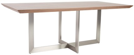 "Tosca 79"" Rectangle Dining Table Walnut"